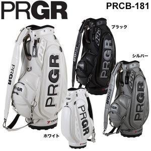[2018年モデル] PRGR プロギア プロ使用モデル キャディバッグ PRCB-181 arigaen