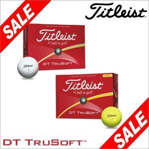 2016年モデル タイトリスト DT TRUSOFT ボール 1ダース(12球入り) [有賀園ゴルフ]|arigaen