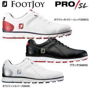2017年モデル フットジョイ メンズ PRO / SL Lace プロ エス・エル レース スパイクレス ゴルフシューズ [日本正規品]|arigaen