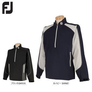 フットジョイ メンズ 撥水 長袖 ハーフジップ ジャケット FJ-F17-O52 [2017年モデル] ゴルフウェア [秋冬モデル 63%OFF] 特価 [有賀園ゴルフ]