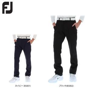 フットジョイ メンズ ストレッチ ロングパンツ FJ-F17-P54 [2017年モデル] ゴルフウェア [秋冬モデル 60%OFF] 特価 [裾上げ対応1] [有賀園ゴルフ]