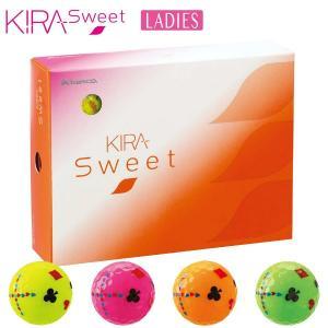 キャスコ KIRA SWEET キラ スウィート トランプ柄 ゴルフボール 1ダース(12球入り) [有賀園ゴルフ] arigaen