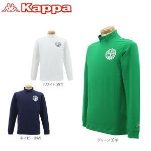 カッパ メンズ 長袖 ハイネックシャツ KG652LS42 [2016年モデル] ゴルフウェア [秋冬モデル 50%OFF] 特価 [有賀園ゴルフ]|arigaen