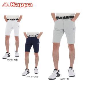 カッパ メンズ ロゴプリント ショートパンツ KG912SP24 ゴルフウェア 春夏モデル 60%O...