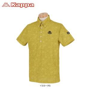 カッパ メンズ ペイズリー柄 半袖 ボタンダウン ポロシャツ KGA12SS09 2020年モデル ...