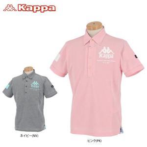 カッパ メンズ ロゴプリント 半袖 ボタンダウン ポロシャツ KGA12SS14 2020年モデル ...