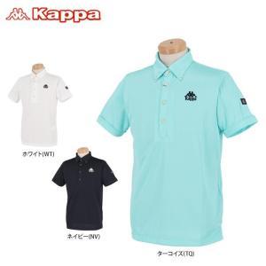 カッパ メンズ チェック柄 半袖 ボタンダウン ポロシャツ KGA12SS17 2020年モデル ゴ...