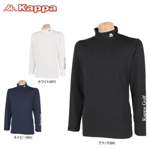 カッパ メンズ ロゴプリント 長袖 ハイネック インナーシャツ KGA12UT01 2020年モデル...