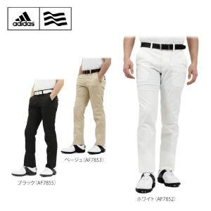 アディダス メンズ CP オックスストレッチ ロングパンツ CCG19 [2016年モデル] ゴルフウェア [50%OFF] 特価 [裾上げ対応3] [有賀園ゴルフ]|arigaen