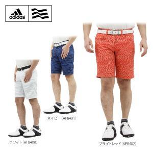 アディダス メンズ ミサンガパターン ショートパンツ CCH93 [2016年モデル] ゴルフウェア [春夏モデル 64%OFF] 特価 [有賀園ゴルフ]|arigaen