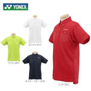 ヨネックス メンズ 半袖 ボタンダウン ポロシャツ GWS1121 [2016年モデル] ゴルフウェア [春夏モデル 71%OFF] 特価 |arigaen