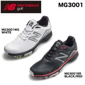 2016年モデル ニューバランス メンズ ソフトスパイク ゴルフ シューズ MG3001 [日本正規品] 特価|arigaen