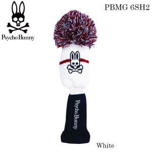 2016年モデル サイコバニー Psycho Bunny ニット ヘッドカバー フェアウェイウッド用 PBMG 6SH2 [有賀園ゴルフ]