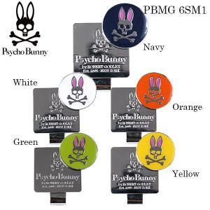 2016年モデル サイコバニー Psycho Bunny クリップマーカー PBMG 6SM1 [有賀園ゴルフ]|arigaen