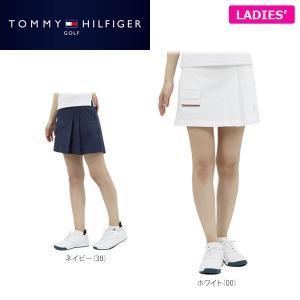 トミー ヒルフィガー ゴルフ レディス ツイル スカート THLA712 ゴルフウェア [2017年春夏モデル 30%OFF]  [有賀園ゴルフ]|arigaen