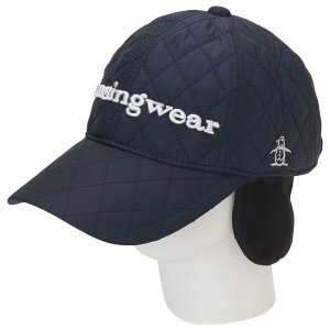 マンシングウェア / ゴルフウェア / Munsingwear(マンシングウェア)キルティング加工キャップ(耳当て付き)(19FW)MGBOJC20の商品画像 ナビ