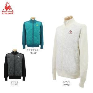 ルコック メンズ 長袖 フルジップ セーター QG4203 [2016年モデル] ゴルフウェア [秋冬モデル 60%OFF] 特価 [有賀園ゴルフ]|arigaen