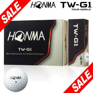 [2018年モデル] 本間ゴルフ TW-G1 ゴルフボール ...