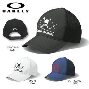 オークリー メンズ SKULL CLUB キャップ 911814JP ゴルフウェア  [2017年春夏モデル] [有賀園ゴルフ] arigaen