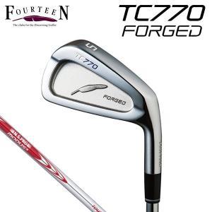 2016年モデル フォーティーン TC-770 フォージド アイアン 単品(#4) N.S.PRO MODUS3 TOUR 105 スチールシャフト [有賀園ゴルフ]|arigaen