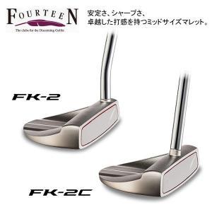 2016年モデル フォーティーン FK-2 / FK-2C パター [有賀園ゴルフ]|arigaen