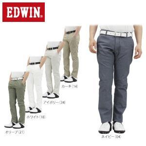 エドウィン メンズ ジャージーズ ロングパンツ ERK03C [2016年モデル] ゴルフウェア [春夏モデル 65%OFF] 特価 [裾上げ対応1●] [有賀園ゴルフ]|arigaen