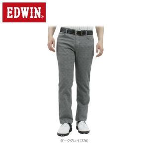 エドウィン メンズ 503 COOL DOBBY メッシュ ロングパンツ E53MFC ゴルフウェア [2017年春夏モデル] [裾上げ対応1●] [有賀園ゴルフ]|arigaen