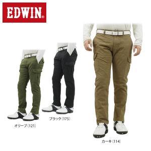 エドウィン メンズ ジャージーズ ロングパンツ ERKC07 [2016年モデル] ゴルフウェア [秋冬モデル 48%OFF] 特価 [裾上げ対応1●] [有賀園ゴルフ]|arigaen