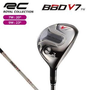 2016年モデル ロイヤルコレクション BBD V7 フェアウェイウッド ATTAS RC W60 シャフト