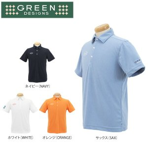 グリーンデザインズ メンズ 半袖 ポロシャツ GDS2 ゴルフウェア [2016年春夏モデル 50%OFF] 特価 [有賀園ゴルフ]|arigaen