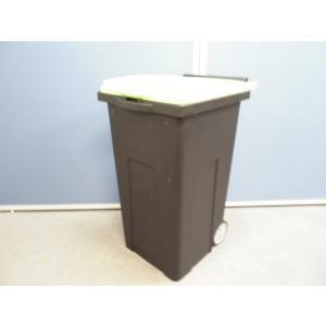 ゴミ箱 幅:430 奥行:520 高さ:800 カラー:ライトグリーン|arigato-ya