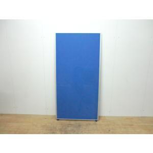 パーテーション その他 ブルー 幅:800 奥行:35 高さ:1600 カラー:ブルー|arigato-ya