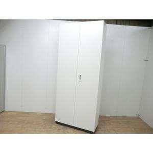 両開きキャビネット クロガネ ホワイト 幅:900 奥行:350 高さ:2160 カラー:ホワイト arigato-ya