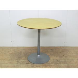 丸テーブル その他 木目調 幅:800 奥行:800 高さ:750 カラー:木目調|arigato-ya