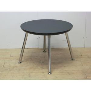 丸テーブル オリバー ブラック 幅:600 奥行:600 高さ:450 カラー:ブラック|arigato-ya