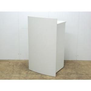 演台 ウチダ ホワイト 幅:600 奥行:530 高さ:1040 カラー:ホワイト|arigato-ya