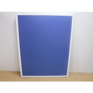 パーテーション UKシリーズ ブルー 幅:1200 奥行:20 高さ:1500 カラー:ブルー|arigato-ya