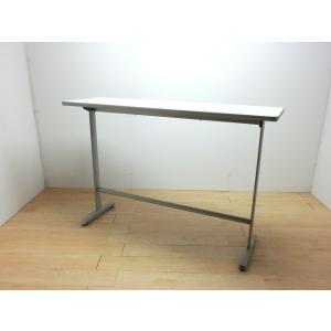 70139カウンターテーブル オカムラ ニューグレー 幅:1500 奥行:450 高さ:1000 カラー:ニューグレー|arigato-ya