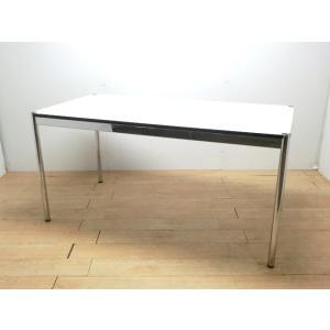 73778会議テーブル USMハラー ホワイト 幅:1500 奥行:750 高さ:745 カラー:ホワイト|arigato-ya