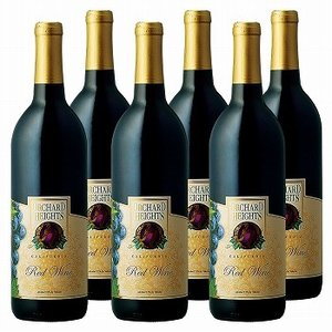 アメリカ お土産 土産 おみやげ オーチャードハイツ 赤ワイン 6本セット 通販 arigatou-nuts