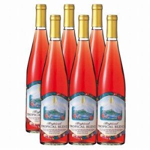 ハワイ お土産 土産 おみやげ トロピカルワイン フルーツワイン 6本セット 通販