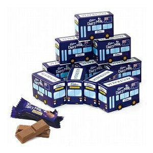 キャドバリーチョコレート デイリーミルク ミニバスボックス 10箱セット(オーストラリア お土産 オーストラリア 土産) 通販|arigatou-nuts