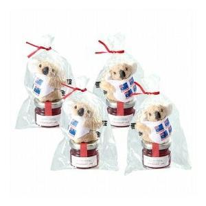 コアラ マスコットクリップ&ビアレンバーグ イチゴジャム 4袋セット(オーストラリア お土産 オーストラリア 土産) 通販|arigatou-nuts