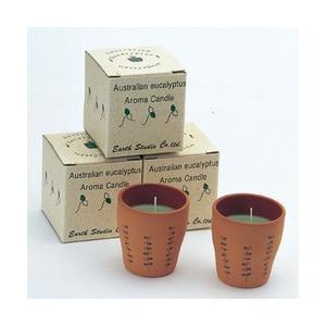 オーストラリア お土産 土産 おみやげ ユーカリ アロマキャンドル 3個セット 通販|arigatou-nuts