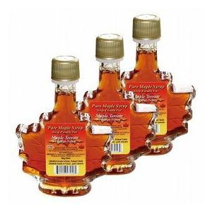 ピュアメープルシロップ カエデボトル入り 3瓶セット(カナダ お土産 カナダ 土産) 通販 arigatou-nuts