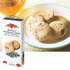 カナダ お土産 土産 おみやげ ブルーベリー&メープルシロップ ショートブレッドクッキー メープルテルワー 通販 arigatou-nuts