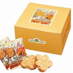 カナダ お土産 土産 おみやげ メープルクリームクッキー 小分けパック 1箱20袋入り 通販