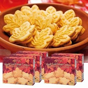 カナダ お土産 土産 おみやげ メープルクリームクッキー 5箱セット 通販|arigatou-nuts