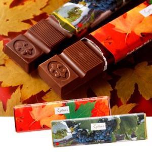 カナダ お土産 土産 おみやげ アイスワイン・メープルシロップチョコレートバー2種 6本セット 通販 arigatou-nuts