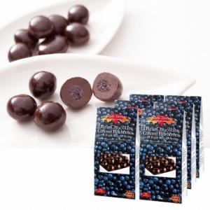 カナダ お土産 土産 おみやげ ブルーベリー&メープルシロップダークチョコレート 6箱セット 通販|arigatou-nuts